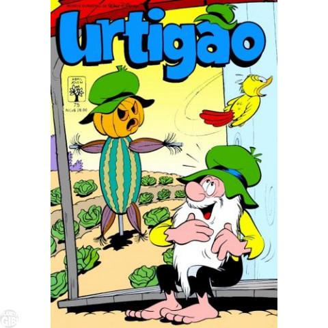 Urtigão [1ª série] nº 075 mar/1990 - Piratas de Água Doce - Vide detalhes