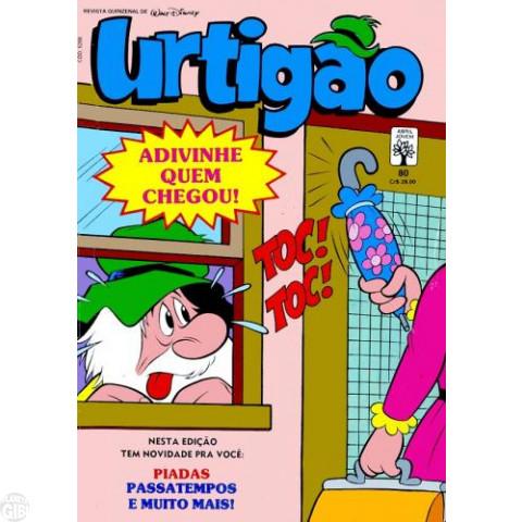 Urtigão [1ª série] nº 080 jun/1990 - A Primeira História de Firmina - Vide detalhes