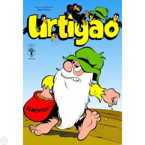 Urtigão [1ª série] nº 092 nov/1990 - Bota uma Botina, Home! - Vide detalhes