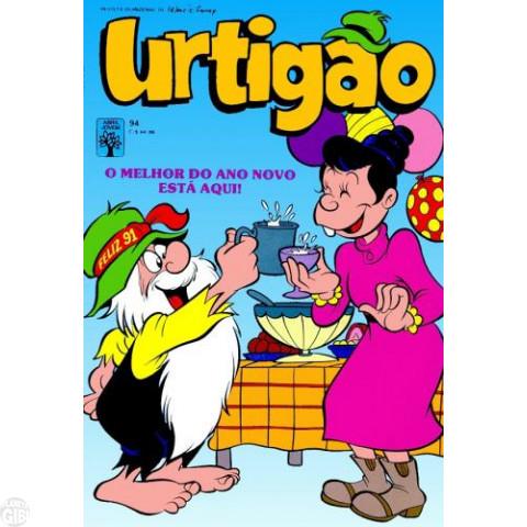 Urtigão [1ª série] nº 094 dez/1990 - Dá-lhe Urtigão