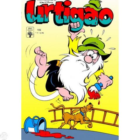Urtigão [1ª série] nº 106 jun/1991 - Dos Males o Mió - Vide Detalhes
