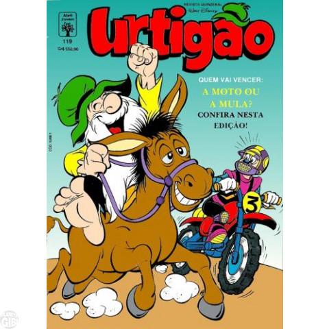 Urtigão [1ª série] nº 119 dez/1991 - Urtigão e Mickey Juntos