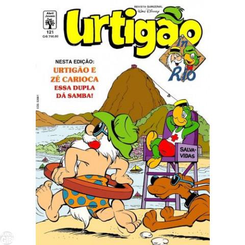 Urtigão [1ª série] nº 121 jan/1992 - In Rio - Primeiro Episódio - Vide Detalhes