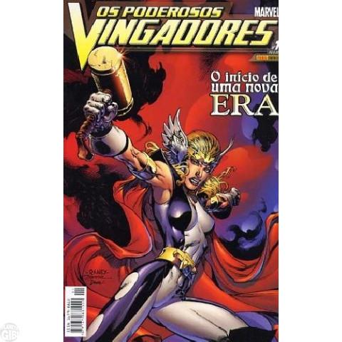 Vingadores [Panini - 1ª série] nº 001 fev/2004 - Poderosos Vingadores