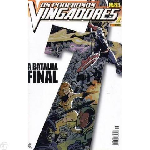 Vingadores [Panini - 1ª série] nº 002 mar/2004 - Poderosos Vingadores
