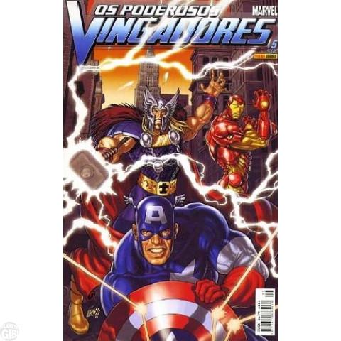 Vingadores [Panini - 1ª série] nº 005 jun/2004 - Poderosos Vingadores