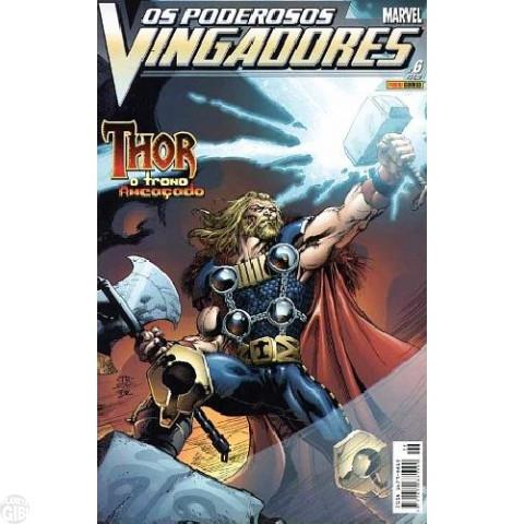 Vingadores [Panini - 1ª série] nº 006 jul/2004 - Poderosos Vingadores