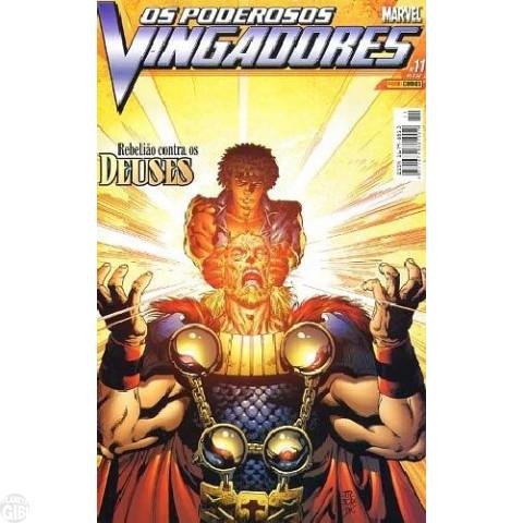 Vingadores [Panini - 1ª série] nº 011 dez/2004 - Poderosos Vingadores