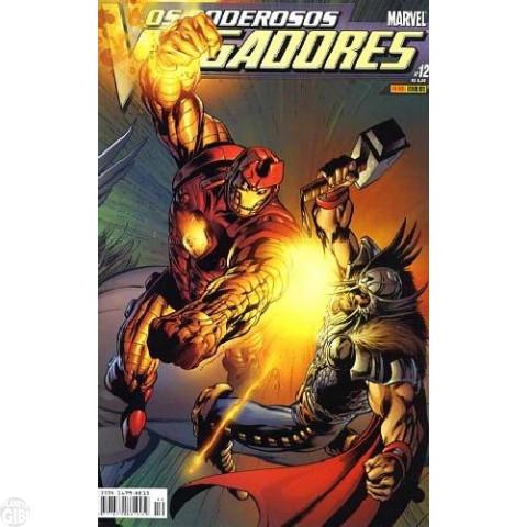 Vingadores [Panini - 1ª série] nº 012 jan/2005 - Poderosos Vingadores
