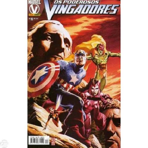 Vingadores [Panini - 1ª série] nº 013 fev/2005 - Poderosos Vingadores
