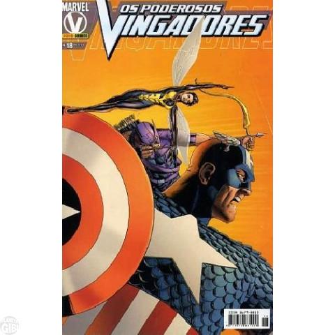Vingadores [Panini - 1ª série] nº 018 jul/2005 - Poderosos Vingadores