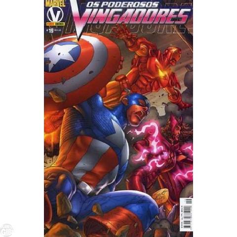 Vingadores [Panini - 1ª série] nº 019 ago/2005 - Poderosos Vingadores