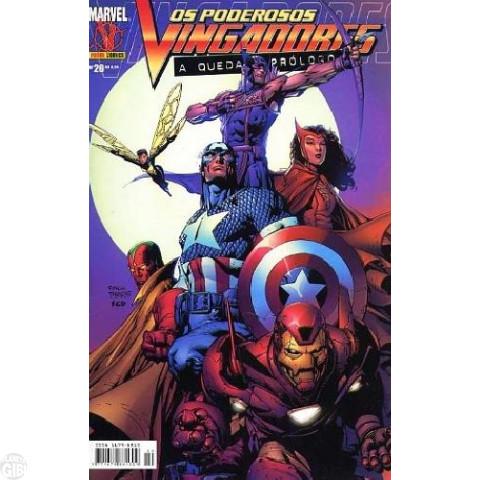 Vingadores [Panini - 1ª série] nº 020 set/2005 - Poderosos Vingadores - A Queda: Prólogo