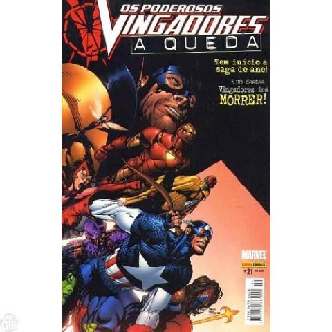 Vingadores [Panini - 1ª série] nº 021 out/2005 - Poderosos Vingadores - A Queda