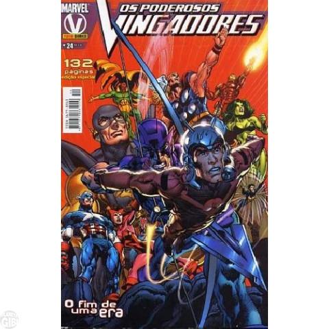 Vingadores [Panini - 1ª série] nº 024 jan/2006 - Poderosos Vingadores - A Queda