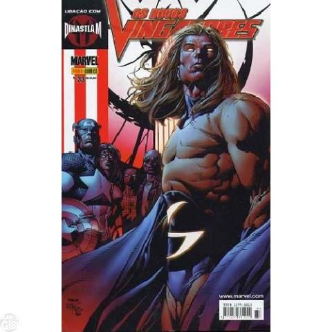 Vingadores [Panini - 1ª série] nº 033 out/2006 - Os Novos Vingadores