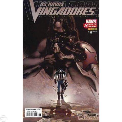Vingadores [Panini - 1ª série] nº 036 jan/2007 - Os Novos Vingadores - Capa Steven Epting