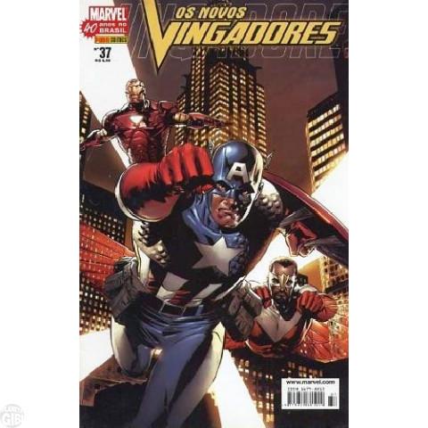Vingadores [Panini - 1ª série] nº 037 fev/2007 - Os Novos Vingadores