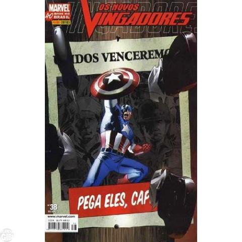 Vingadores [Panini - 1ª série] nº 038 mar/2007 - Os Novos Vingadores