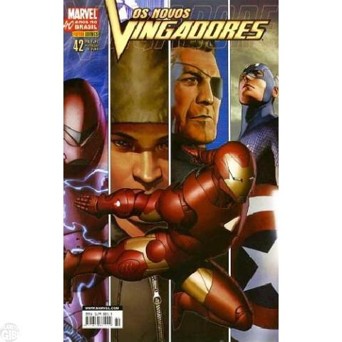 Vingadores [Panini - 1ª série] nº 042 jul/2007 - Os Novos Vingadores