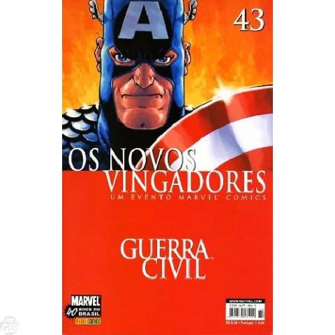 Vingadores [Panini - 1ª série] nº 043 ago/2007 - Os Novos Vingadores - Guerra Civil