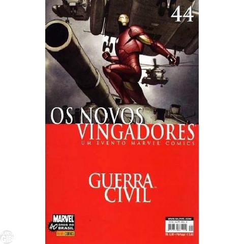 Vingadores [Panini - 1ª série] nº 044 set/2007 - Os Novos Vingadores - Guerra Civil