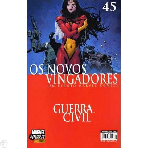 Vingadores [Panini - 1ª série] nº 045 out/2007 - Os Novos Vingadores - Guerra Civil