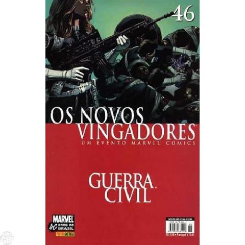 Vingadores [Panini - 1ª série] nº 046 nov/2007 - Os Novos Vingadores - Guerra Civil