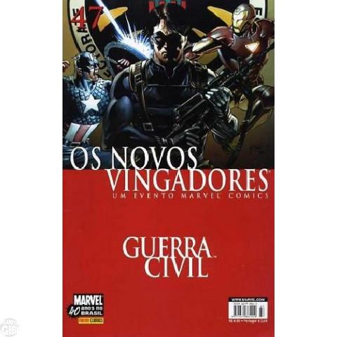 Vingadores [Panini - 1ª série] nº 047 dez/2007 - Os Novos Vingadores - Guerra Civil
