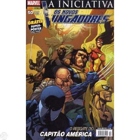 Vingadores [Panini - 1ª série] nº 050 mar/2008 - Os Novos Vingadores - A Iniciativa