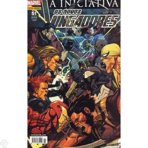 Vingadores [Panini - 1ª série] nº 051 abr/2008 - Os Novos Vingadores - A Iniciativa