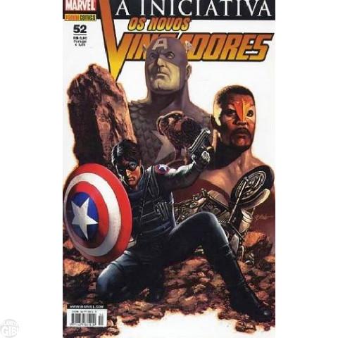 Vingadores [Panini - 1ª série] nº 052 mai/2008 - Os Novos Vingadores - A Iniciativa