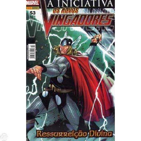 Vingadores [Panini - 1ª série] nº 053 jun/2008 - Os Novos Vingadores - A Iniciativa
