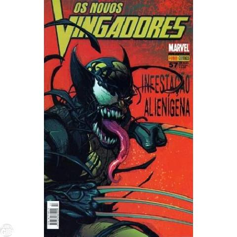 Vingadores [Panini - 1ª série] nº 057 out/2008 - Os Novos Vingadores