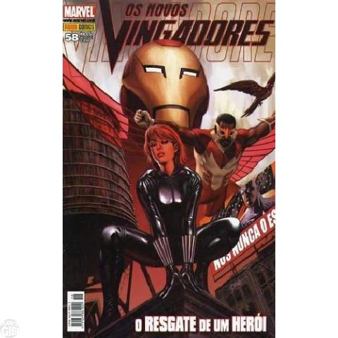 Vingadores [Panini - 1ª série] nº 058 nov/2008 - Os Novos Vingadores