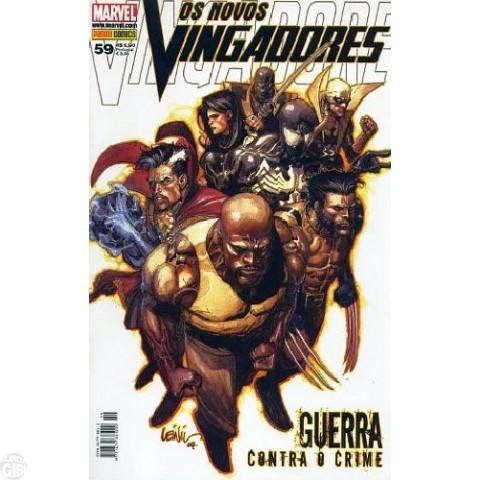 Vingadores [Panini - 1ª série] nº 059 dez/2008 - Os Novos Vingadores