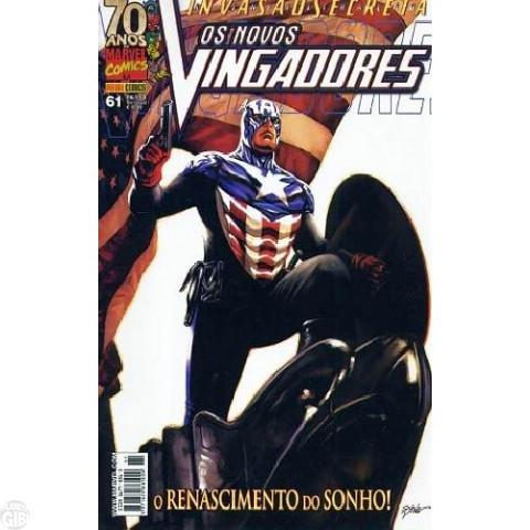 Vingadores [Panini - 1ª série] nº 061 fev/2009 - Os Novos Vingadores - Invasão Secreta