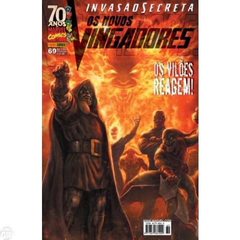 Vingadores [Panini - 1ª série] nº 069 out/2009 - Os Novos Vingadores - Invasão Secreta