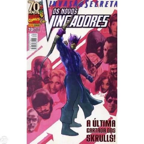 Vingadores [Panini - 1ª série] nº 070 nov/2009 - Os Novos Vingadores - Invasão Secreta