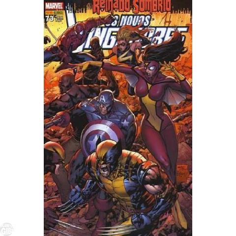 Vingadores [Panini - 1ª série] nº 073 fev/2010 - Os Novos Vingadores - Reinado Sombrio