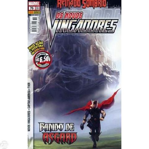 Vingadores [Panini - 1ª série] nº 076 mai/2010 - Os Novos Vingadores - Reinado Sombrio