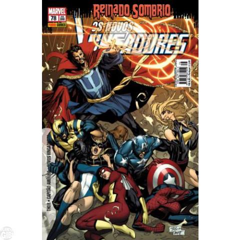 Vingadores [Panini - 1ª série] nº 078 jul/2010 - Os Novos Vingadores - Reinado Sombrio