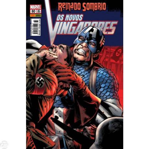 Vingadores [Panini - 1ª série] nº 080 set/2010 - Os Novos Vingadores - Reinado Sombrio