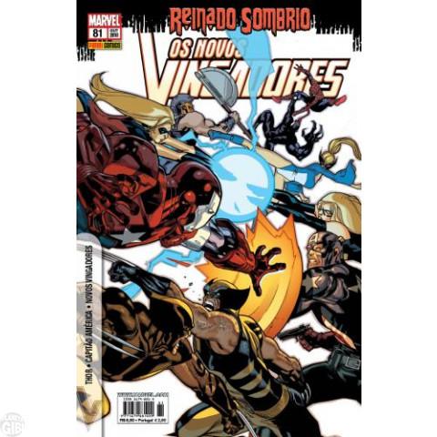 Vingadores [Panini - 1ª série] nº 081 out/2010 - Os Novos Vingadores - Reinado Sombrio