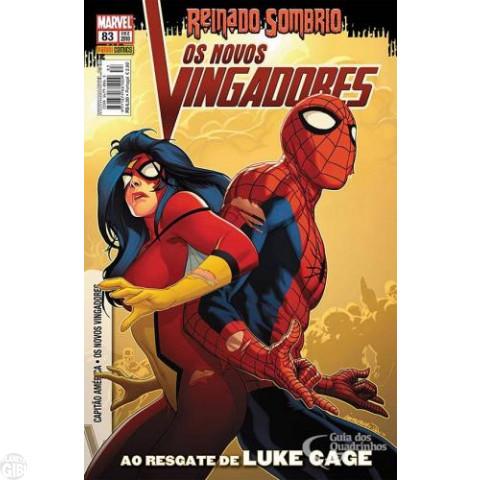 Vingadores [Panini - 1ª série] nº 083 dez/2010 - Os Novos Vingadores - Reinado Sombrio