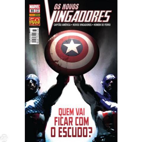 Vingadores [Panini - 1ª série] nº 085 fev/2011 - Os Novos Vingadores