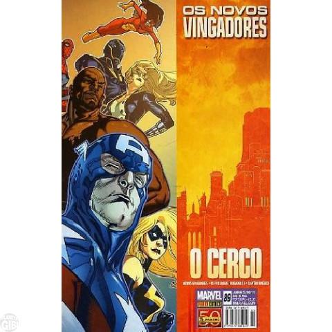 Vingadores [Panini - 1ª série] nº 089 jun/2011 - Os Novos Vingadores - O Cerco