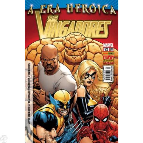 Vingadores [Panini - 1ª série] nº 092 set/2011 - A Era Heroica