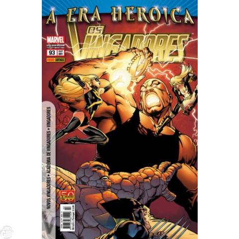 Vingadores [Panini - 1ª série] nº 093 out/2011 - A Era Heroica