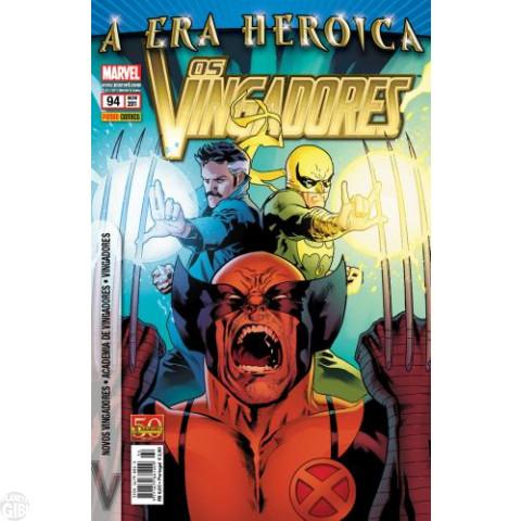 Vingadores [Panini - 1ª série] nº 094 nov/2011 - A Era Heroica